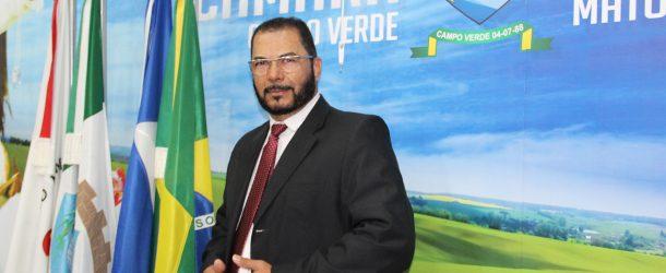 Vereador solicita medidas que se faça cumprir as irregularidades apontadas no relatório da AGER, contra a Água de Campo Verde, dentro do prazo estipulado.