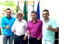 Presidente da Câmara de Vereadores Solivan Fonseca recebe em seu gabinete o Prefeito da cidade de Alto Boa Vista.